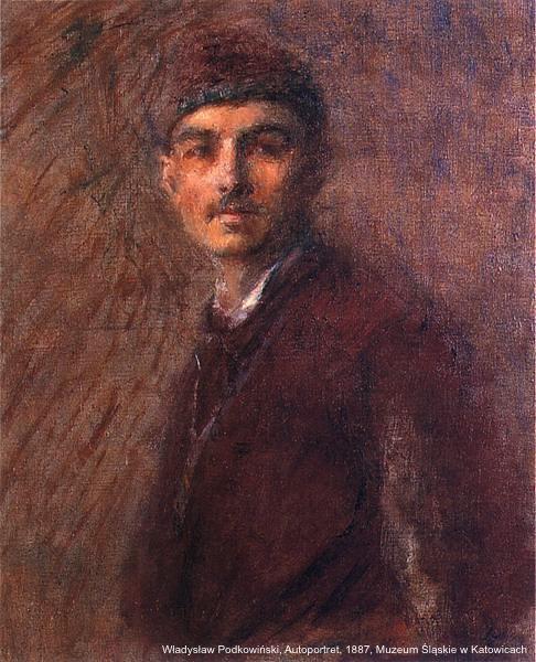 WladyslawPodkowinski.Autoportret.1887.ws
