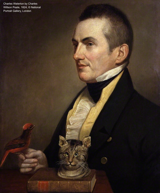 NPG 2014; Charles Waterton by Charles Wilson Peale