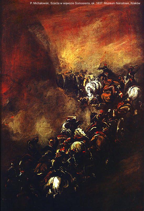 Battle_of_Somosierra_by_Piotr_Michałowski