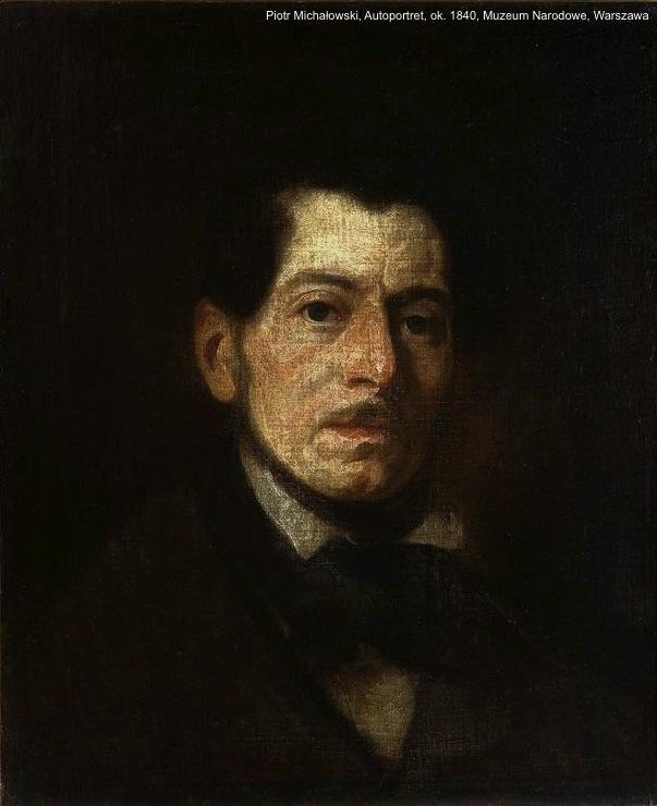 Michałowski_Self-portrait