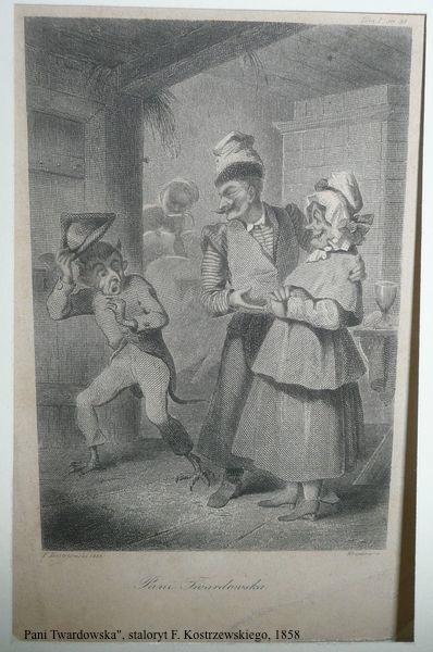 pani twardowska kostrzewski staloryt 1858 str